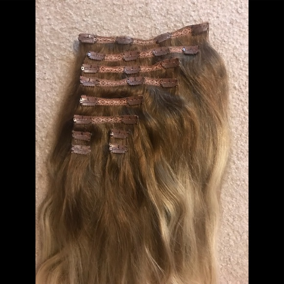 Bellami Other 10 Piece Ombr Hair Extensions 20 Poshmark